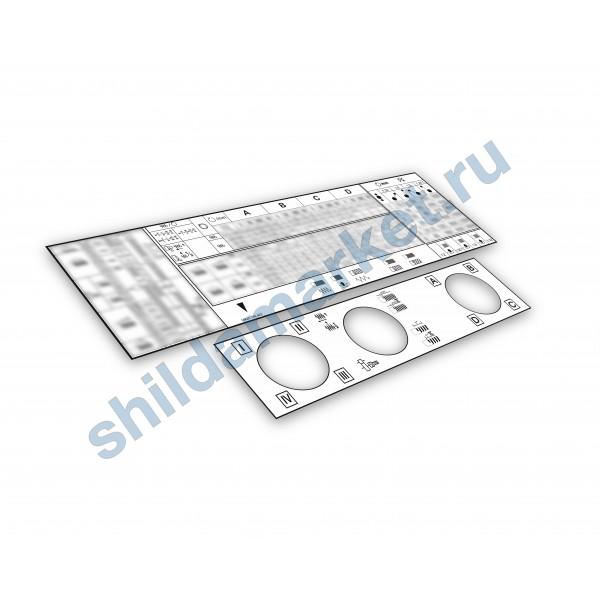 Таблички (шильды) 16К20